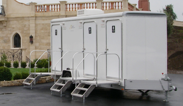 Luxury Mobile Shower Trailers