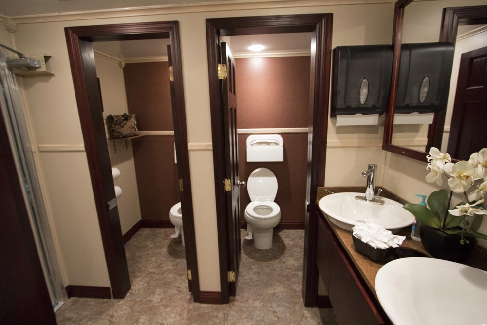 how much time do you spend in the restroom?   royal restrooms